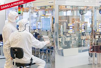 Des galettes de silicium très pur pour fabriquer en masse des bits quantiques